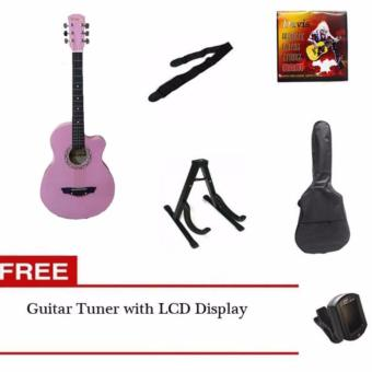 Arena Acoustic Guitar Package (pink) Price Philippines