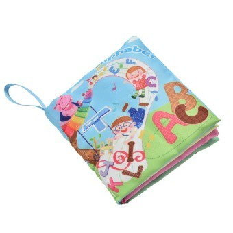 Fabric Books Educational Cloth Book Preschool Training Cartoon Baby Toy Alphabet Price Philippines