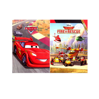 Harga WS Disney Paperback Picture Books Set of 2 (Cars & Planes)