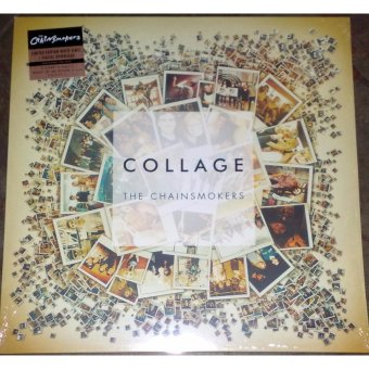 Harga Collage by The Chainsmokers Vinyl LP