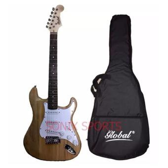 Harga Global Stratocaster Electric Guitar (Natural)