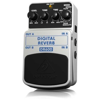 Behringer DR600 DIGITAL REVERB Digital Stereo Reverb Effects Pedal Price Philippines