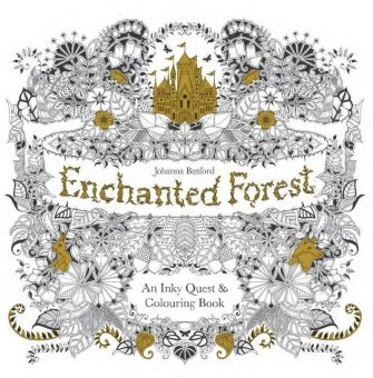 Harga Enchanted Forest: An Inky Quest and Coloring Book