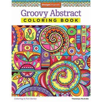 Groovy Abstract Coloring Book Price Philippines