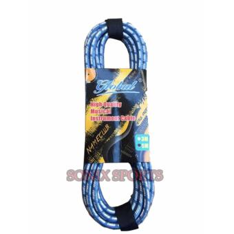 Global 3 Meters Cable for Piano & Guitars (Blue) Price Philippines