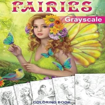Fairies Grayscale Coloring Book Coloring Book For Adults Price Philippines