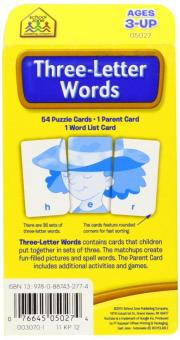 ThreeLetter Words Flash Cards Price Philippines