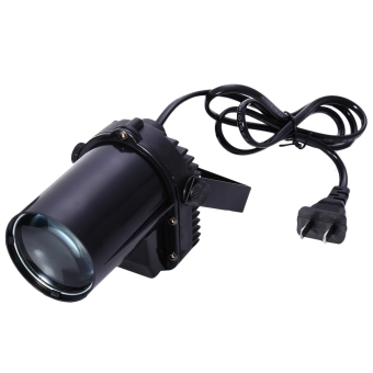 3W LED Spot Light Mounted Pinspot Stage Beam Lamp - intl Price Philippines
