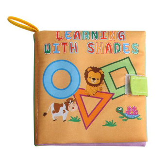 Soft Cloth Book Infant Educational Toys Newborn Learning Book(geometry) Price Philippines
