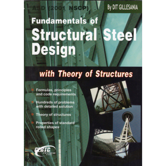 Fundamentals of Structural Steel Design (with Theory of Structures) Price Philippines