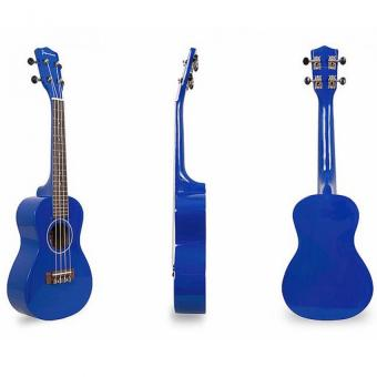 "Jasmine 23"" Colored Concert Size Ukulele (Blue) Price Philippines"