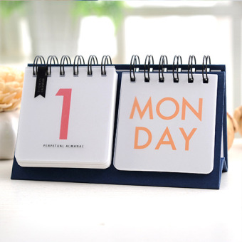 New Mini Small Paper Desk Perpetual Almanac Calendar Accessories For Office Table School Supplies Organizer Price Philippines