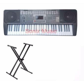 Harga Global GL-337 Keyboard With Double X Stand