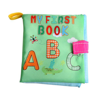 Soft Cloth Book Infant Educational Toys Newborn Learning Book(Letter) Price Philippines