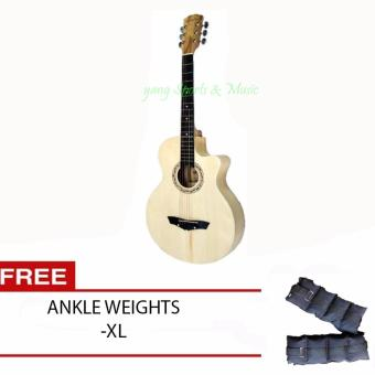 Arena Acoustic Guitar (All Natural) FREE Ankle Weights XL Price Philippines