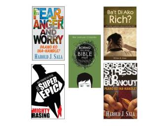 Ba't Di Ako Rich?, Boring Ba And Bible Mo? May Powers Ka To Be SuperEpic, Fear, Anger and Worry: Paano Ko Iha-handle and Boredom, Stress and Burnout Paano Ka Iha-handle Bundle of 5 Price Philippines