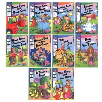 Harga WS Phonics in Reading Series 2: Book 1 - 10