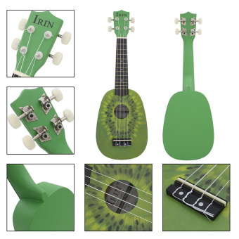 "21"" Ukelele 4 Strings Cute Kiwi Basswood Stringed Musical Instrument (Intl) Price Philippines"