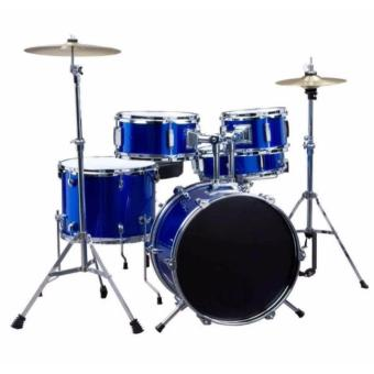Harga Global Junior Drum Set (Blue)