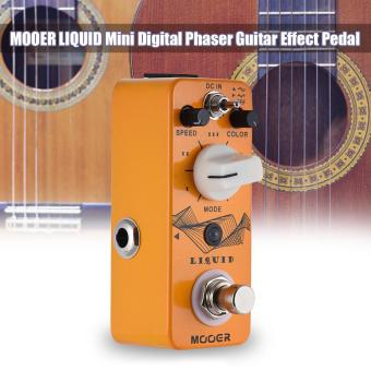 Harga MOOER LIQUID Mini Digital Phaser Guitar Effect Pedal True Bypass Full Metal Shell Outdoorfree - intl