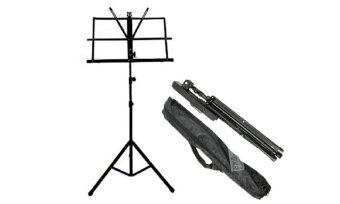 Global Folding Music Stand (Black) with Carry Bag Price Philippines