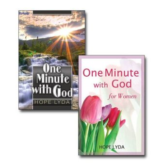 One Minute with God and One Minute with God for Women Price Philippines