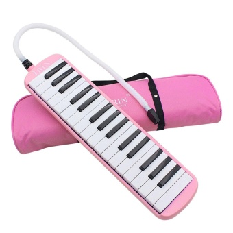 IRIN 32-Key Melodica with Blowpipe & Blow Pipe Pink - intl Price Philippines