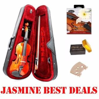 Jasmine Best Deal Full Size Violin 4/4 Bundles