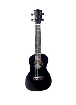 JASMINE Colored Concert Size Ukulele (Black)