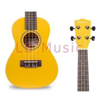 Jasmine Concert Colored Ukulele Ukelele (Yellow) - 4