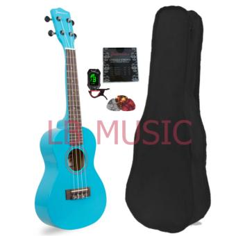Jasmine Concert with tuner Colored Ukulele Ukelele complete set(Light Blue)