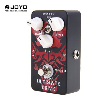 Joyo JF-02 Ultimate Drive Overdrive Electric Guitar Effect Pedal Black Red - 3