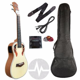 Knight Concert w/ pickup and built in tuner, padded bag Completeset Ukulele ukelele Price Philippines