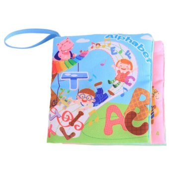 LALANG Baby Educational Early Learning Cloth Book Alphabet PictureCognition Price Philippines
