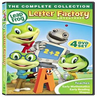 Leap Frog Letter Factory Adventures [DVD] Price Philippines