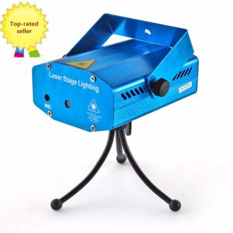 LED Mini Laser Stage Light Projector Club Dj Disco Bar Stage Light (Blue)