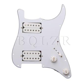 Loaded pickguard HH For Humbuckers Guitar White
