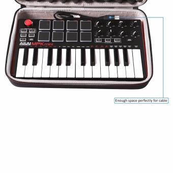 LTGEM EVA Hard Storage Carrying Case for Akai Professional MPK Mini MKII 25-Key USB MIDI Controller - intl - 3