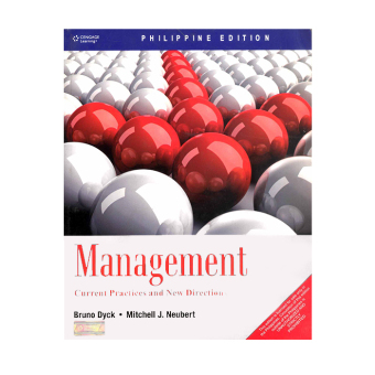 Management: Current Practices and New Directions (Dyck/Neubert) Price Philippines