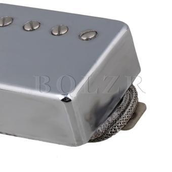 Metal Wire Electric Guitar Humbucker Bridge Neck Pickups Set of 2 Silver - intl - 4