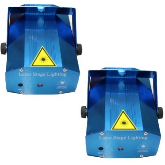 Mini Laser Stage Lighting (Blue) Set Of 2 Price Philippines
