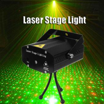 Mini LED Laser Pointer Disco Karaoke Stage Light Party Pattern Lighting Projector Show Laser Projector Lights Home Party Christmas Light (US plug) - intl - picture 2