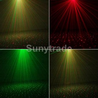 Mini Outdoor Laser Projector Static Pattern Waterproof Red Green RGStar Dots Color Projection Light Landscape Yard Garden - intl - 5