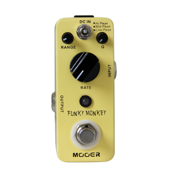 MOOER Funky Monkey Auto Wah Electirc Guitar Effect Pedal TrueBypass Mini Effects