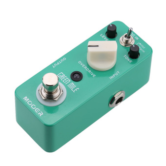 Mooer Green Mile Micro Mini Overdrive Electric Guitar Effect Pedal (Intl)