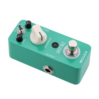 Mooer Green Mile Micro Mini Overdrive Electric Guitar Effect Pedal (Intl) - 5