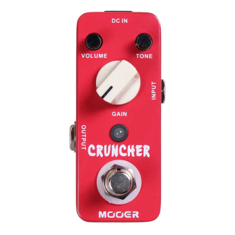 Mooer MDS3 Cruncher Distortion Electric Guitar Effect Pedal TrueBypass