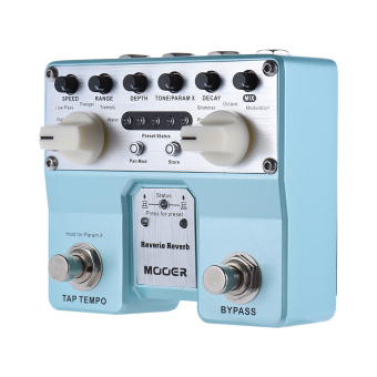 MOOER Reverie Reverb Guitar Effect Pedal 5 Reverberation Modes 5Enhancing Effects with Two Footswitch - intl - 4