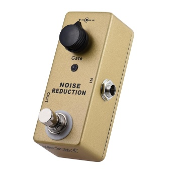 MOSKY MP-40 Noise Gate Noise Reduction Suppressor Mini Single Guitar Effect Pedal True Bypass Gold Color ^ - intl