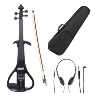 Mozart 4/4 Electric Violin (Glossy Black)